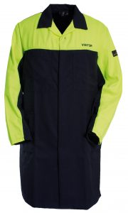 "Product image for Tranemo Workwear Flame Retardant Coat ""Visitor"""