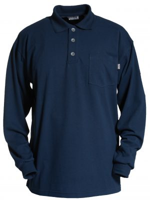 70e9964a2499 Flame Retardant Poloshirt Long Sleeve