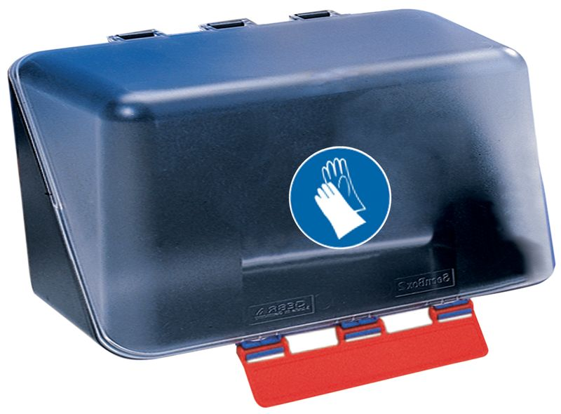 Signs Labels Secubox Mini Hand Protection Storage Box Transparent