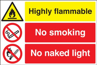 No naked light | Protector FireSafety