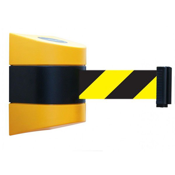 Signs Amp Labels Wall Mount Tensabarrier 9m Yellow Amp Black