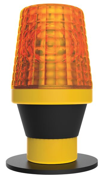 Product image for CONE SAFETY LIGHT WIDE FIT AMBER