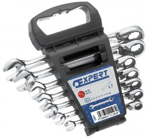 Product image for Britool 7 PC RATCHETING WRENCHES SET