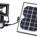 Product image for Rechargeable Solar Powered LED PIR Floodlight