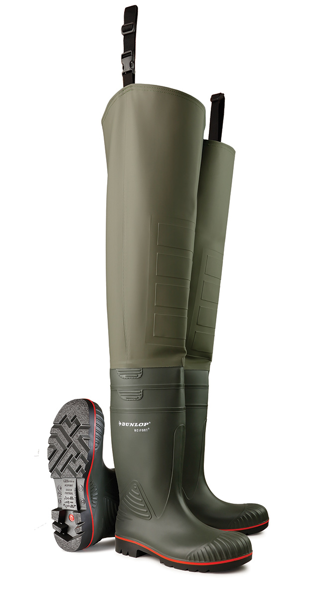 1bcaef5530b1 Product image for ACIFORT THIGH WADER F S GRN