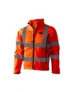 Product image for Premium High Visibility Softshell Jacket